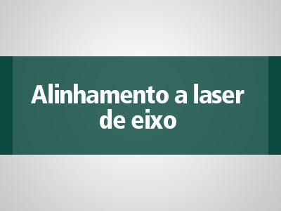 Alinhamento a laser de eixo